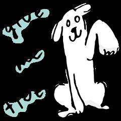 White eyed dog (English Ver.)