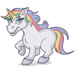 RAINBOW Unicorn ELLERY