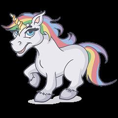 RAINBOW Unicorn ELLERY