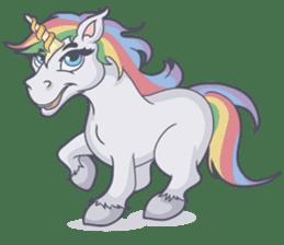 RAINBOW Unicorn ELLERY sticker #5868872