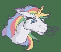 RAINBOW Unicorn ELLERY sticker #5868874