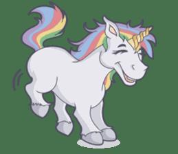 RAINBOW Unicorn ELLERY sticker #5868876
