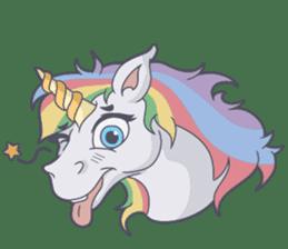 RAINBOW Unicorn ELLERY sticker #5868884