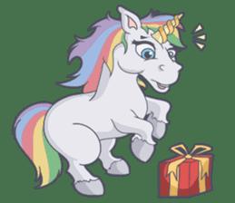 RAINBOW Unicorn ELLERY sticker #5868886