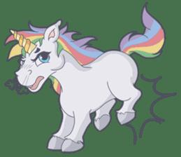 RAINBOW Unicorn ELLERY sticker #5868890