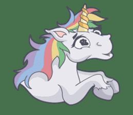 RAINBOW Unicorn ELLERY sticker #5868893