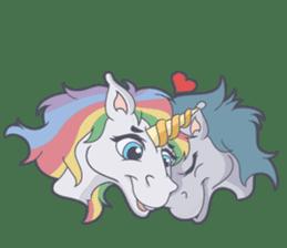 RAINBOW Unicorn ELLERY sticker #5868902