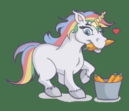 RAINBOW Unicorn ELLERY sticker #5868904