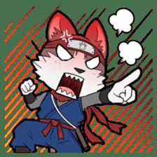 Ninja Cat HACHIWARE! sticker #5883276