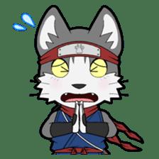 Ninja Cat HACHIWARE! sticker #5883278