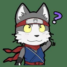 Ninja Cat HACHIWARE! sticker #5883289