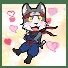 Ninja Cat HACHIWARE! sticker #5883307