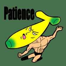 Banana wrestler sticker #5885516