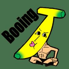 Banana wrestler sticker #5885520