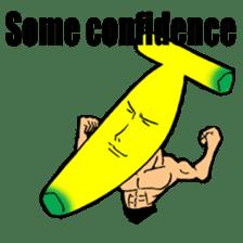 Banana wrestler sticker #5885525
