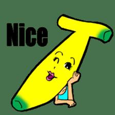 Banana wrestler sticker #5885528