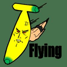 Banana wrestler sticker #5885533