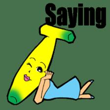 Banana wrestler sticker #5885537