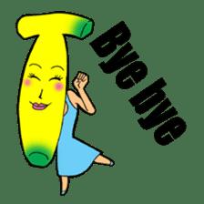 Banana wrestler sticker #5885543