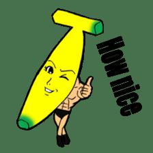 Banana wrestler sticker #5885544