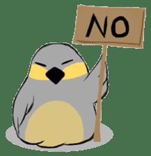 Java sparrow's diary sticker #5893274