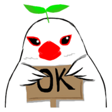 Java sparrow's diary sticker #5893275