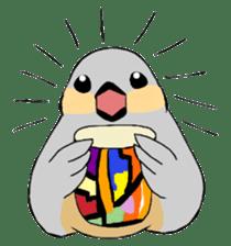Java sparrow's diary sticker #5893284