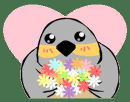 Java sparrow's diary sticker #5893301