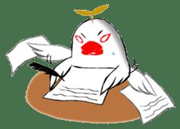 Java sparrow's diary sticker #5893311