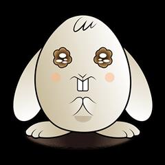 Funny alien rabbit