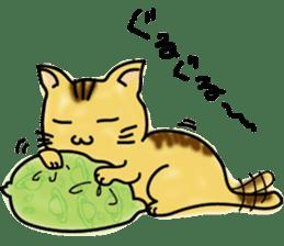 Cat craftsman2 sticker #5898759