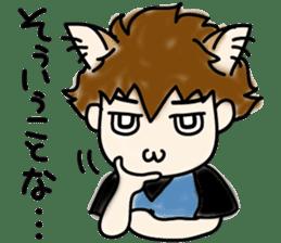 Cat craftsman2 sticker #5898760