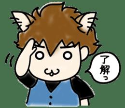 Cat craftsman2 sticker #5898762