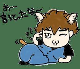 Cat craftsman2 sticker #5898764