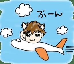 Cat craftsman2 sticker #5898769