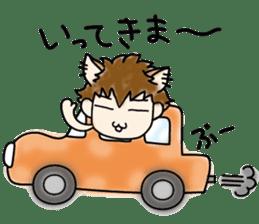 Cat craftsman2 sticker #5898770