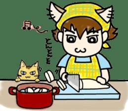 Cat craftsman2 sticker #5898771