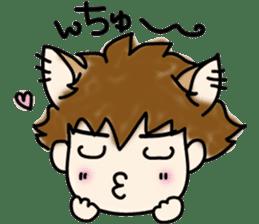 Cat craftsman2 sticker #5898774