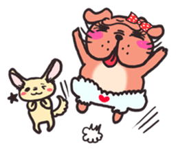 Bullmi -kawaii bulldog- sticker #5900814