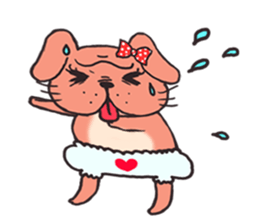 Bullmi -kawaii bulldog- sticker #5900817