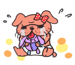 Bullmi -kawaii bulldog- sticker #5900820