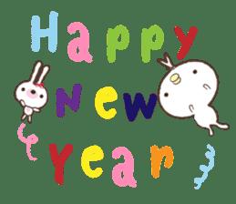Peter's Happy New Year 2016 sticker #5904815