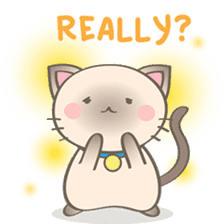 Simi, The siamese kitten (version 2) sticker #5905080