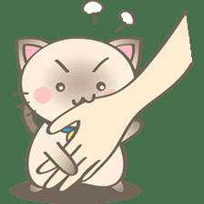 Simi, The siamese kitten (version 2) sticker #5905082