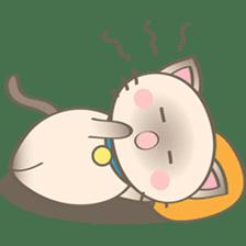 Simi, The siamese kitten (version 2) sticker #5905084