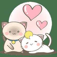 Simi, The siamese kitten (version 2) sticker #5905085