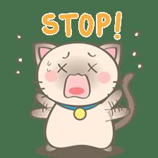 Simi, The siamese kitten (version 2) sticker #5905086