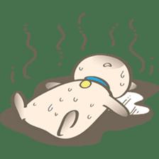 Simi, The siamese kitten (version 2) sticker #5905088