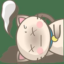 Simi, The siamese kitten (version 2) sticker #5905089