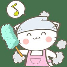 Simi, The siamese kitten (version 2) sticker #5905090